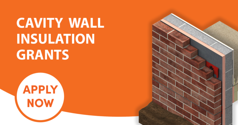 Get Free Cavity Wall Insulation, now available in the Consett area.